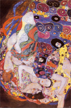 Virgin, Gustav Klimt