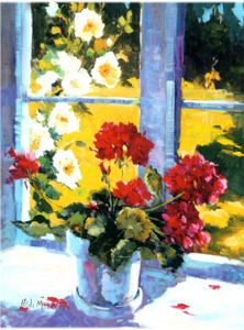 Danish Window, Hedi Moran