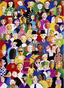 Crowd, Judy Byford